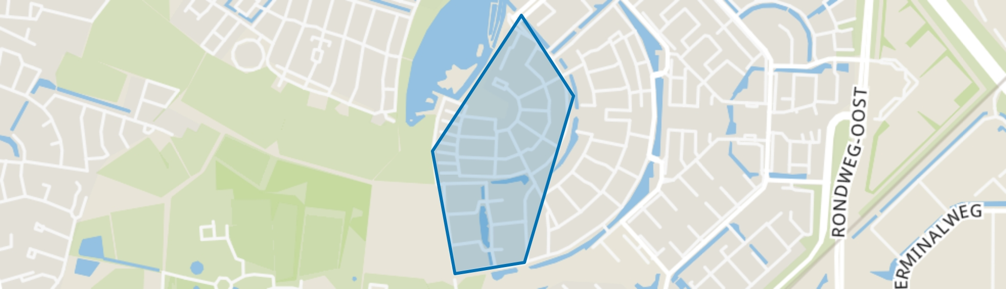 Architectenbuurt-West, Amersfoort map