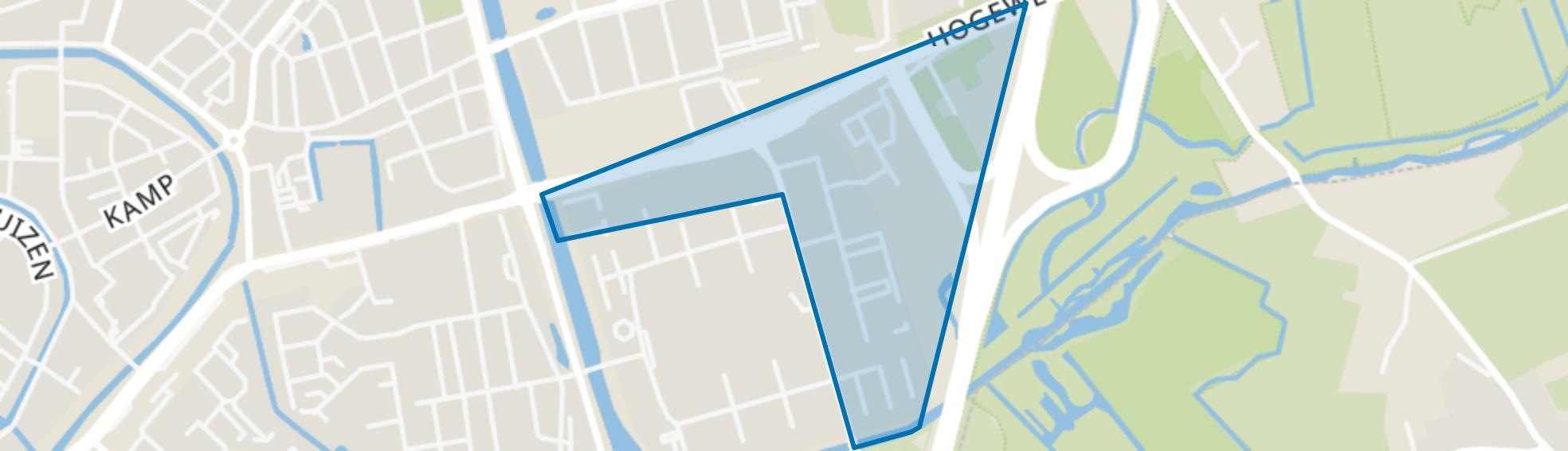 Ariaweg, Amersfoort map