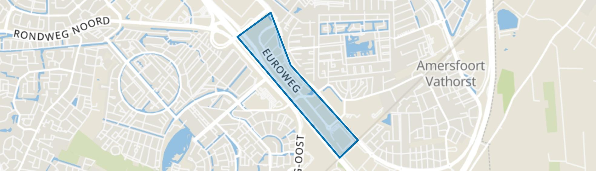 Bedrijventerrein Vathorst-Noord, Amersfoort map