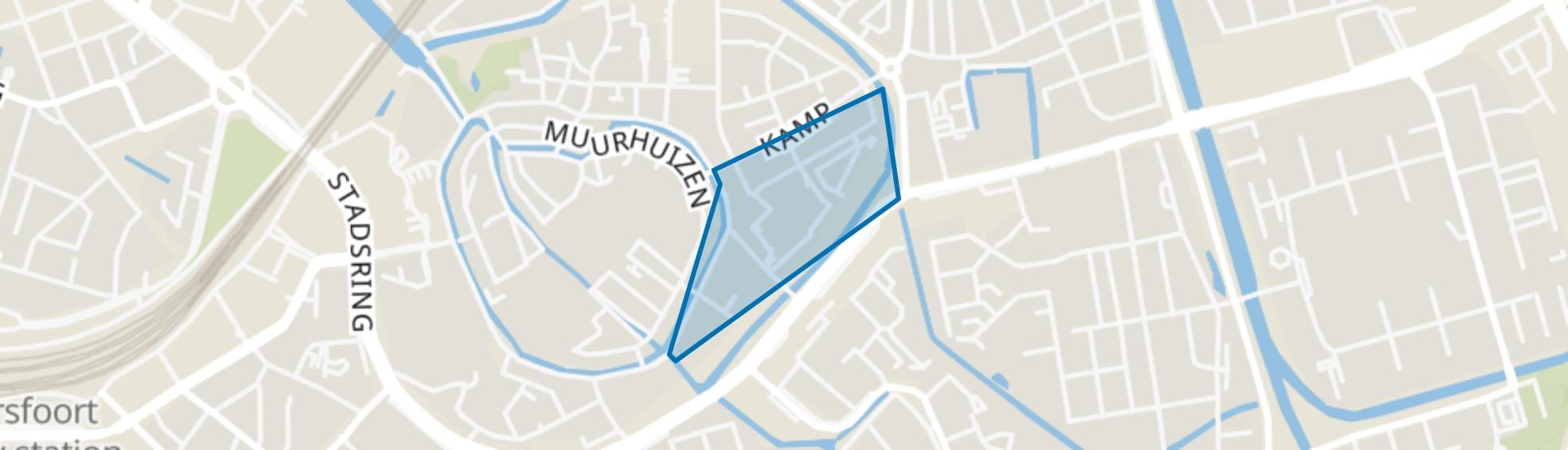 Beestenmarkt, Amersfoort map