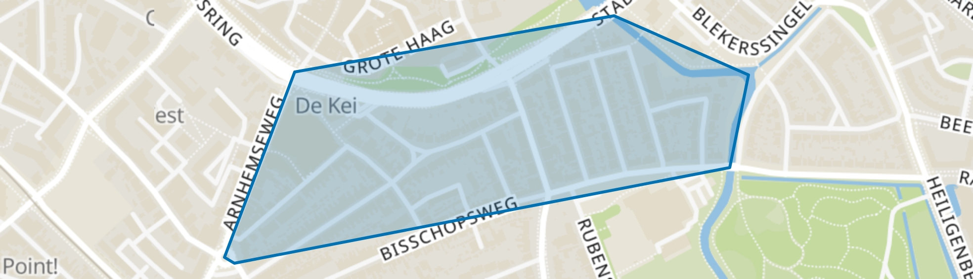 Bekenstein en De Luiaard, Amersfoort map