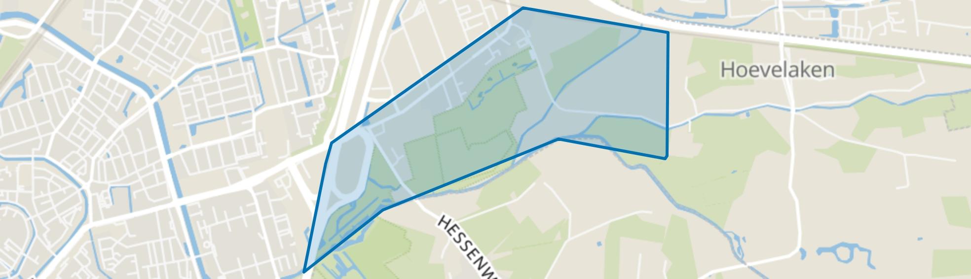 Bloeidaal, Amersfoort map