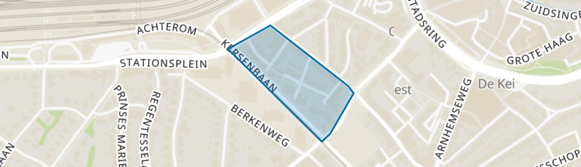 Bloemweg, Amersfoort map