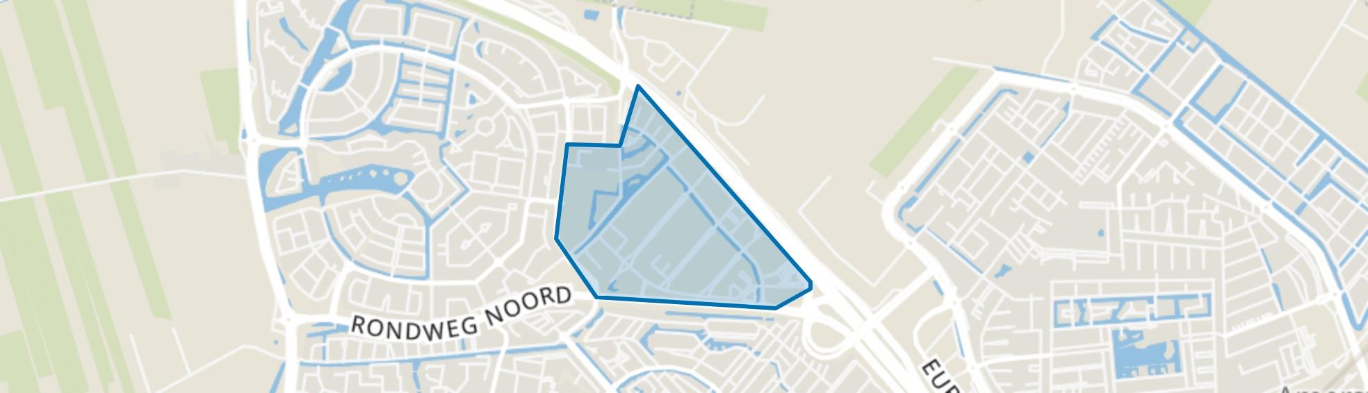 Calveen, Amersfoort map