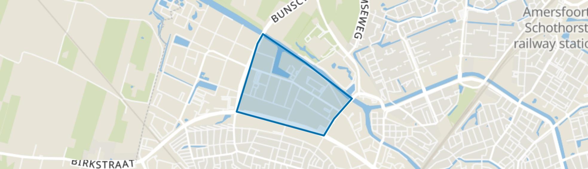 Chromiumweg, Amersfoort map