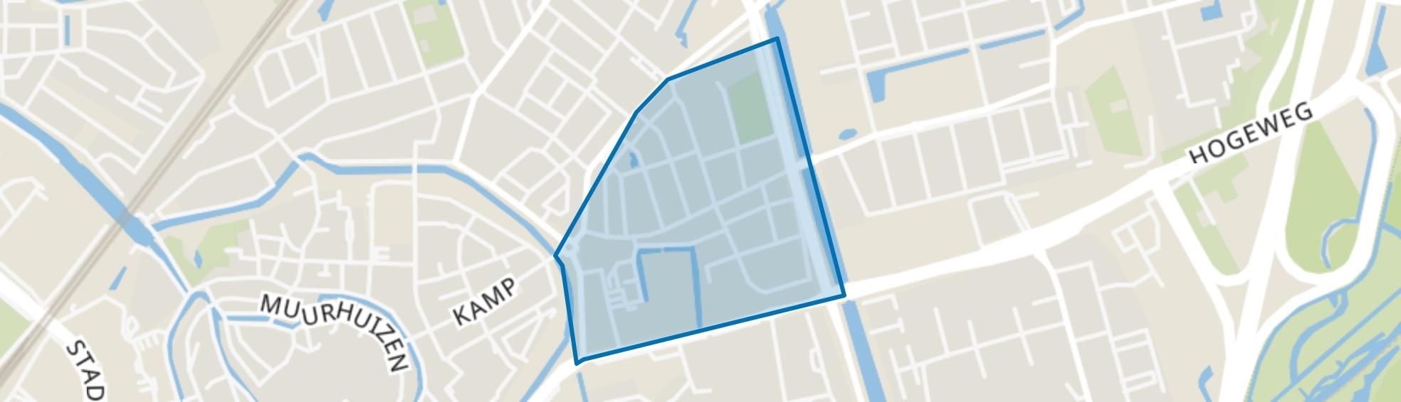 Columbusweg, Amersfoort map
