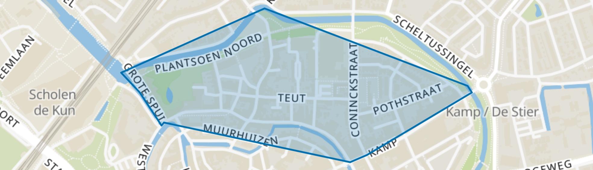 Coninckstraat, Amersfoort map