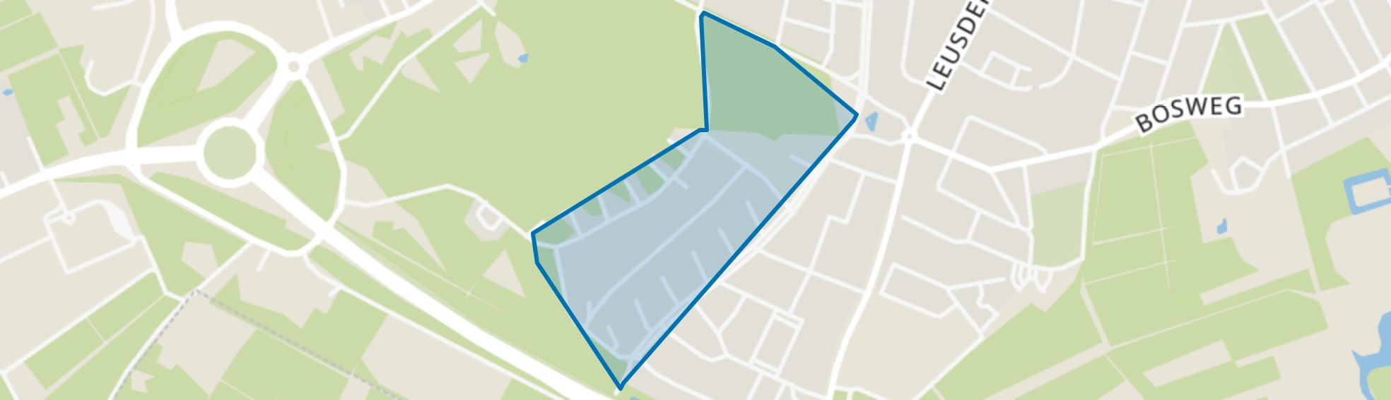 Curacaolaan, Amersfoort map