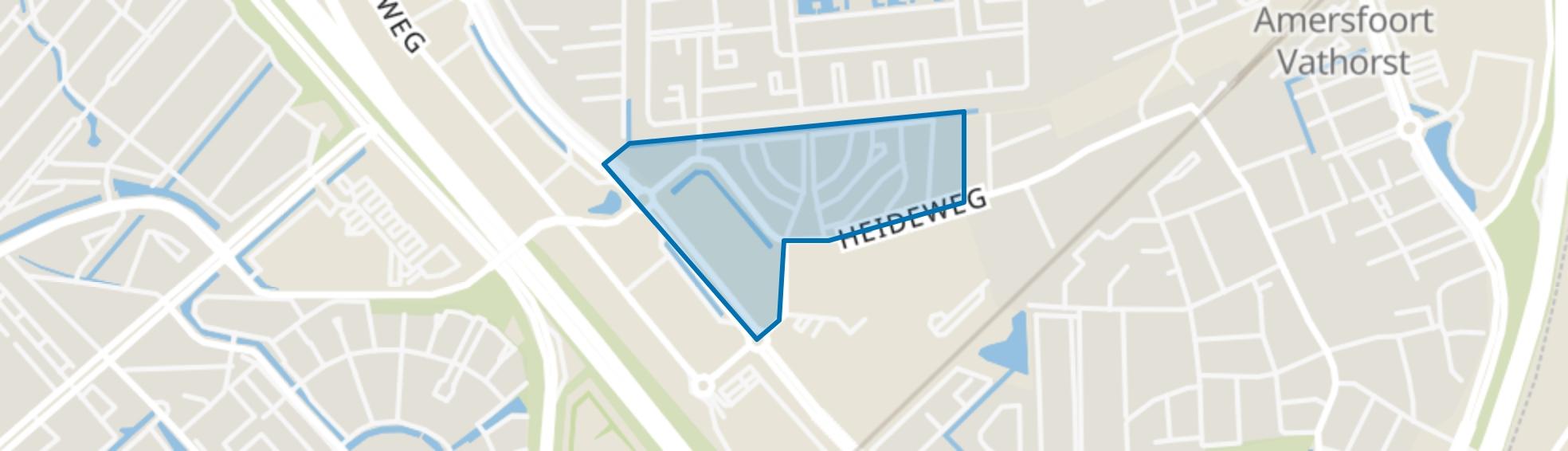 Cycladen, Amersfoort map