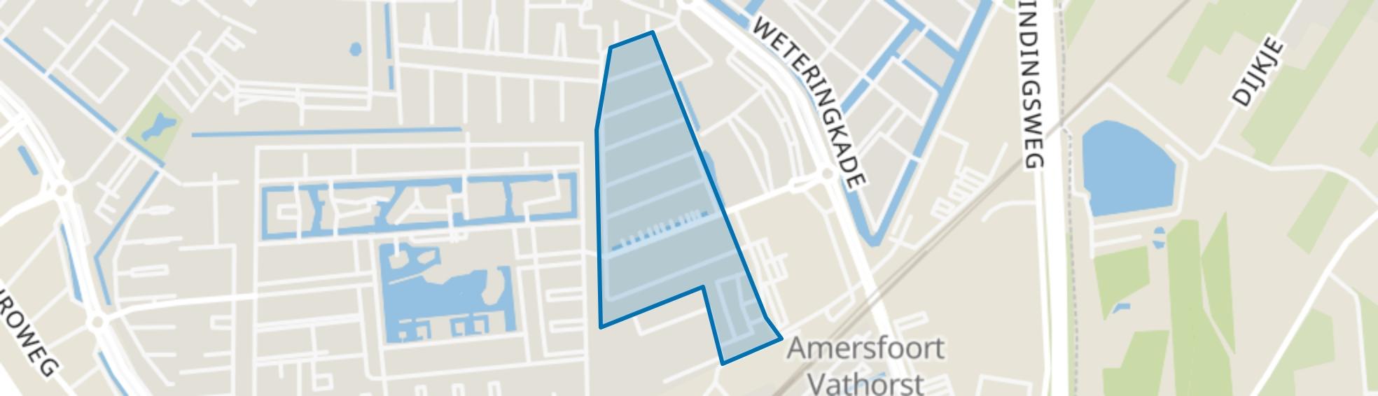 Damespolder, Amersfoort map