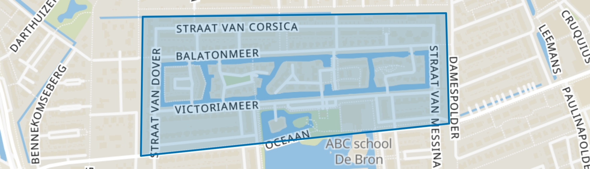 De Bron Noord, Amersfoort map