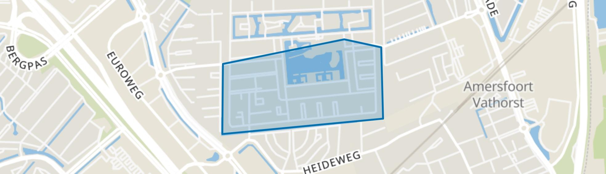 De Bron Zuid, Amersfoort map