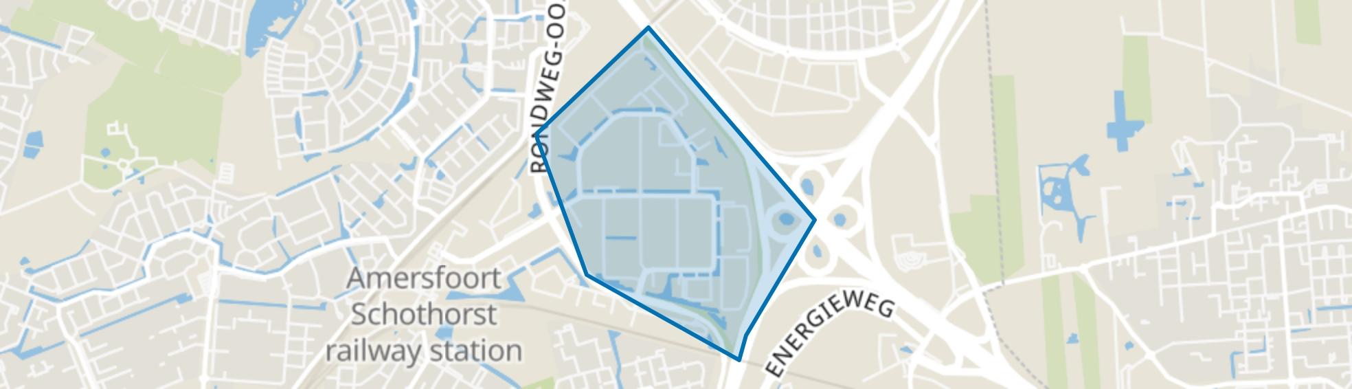 De Hoef-Oost, Amersfoort map
