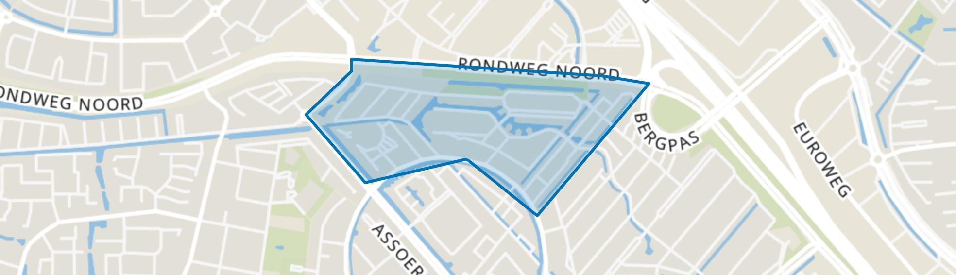 De Horizon, Amersfoort map