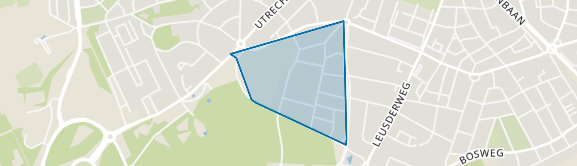 De Lichtenberg, Amersfoort map