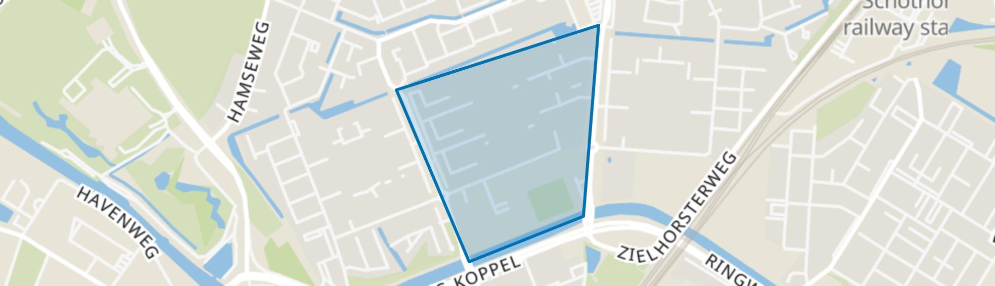 De Plaatsen, Amersfoort map