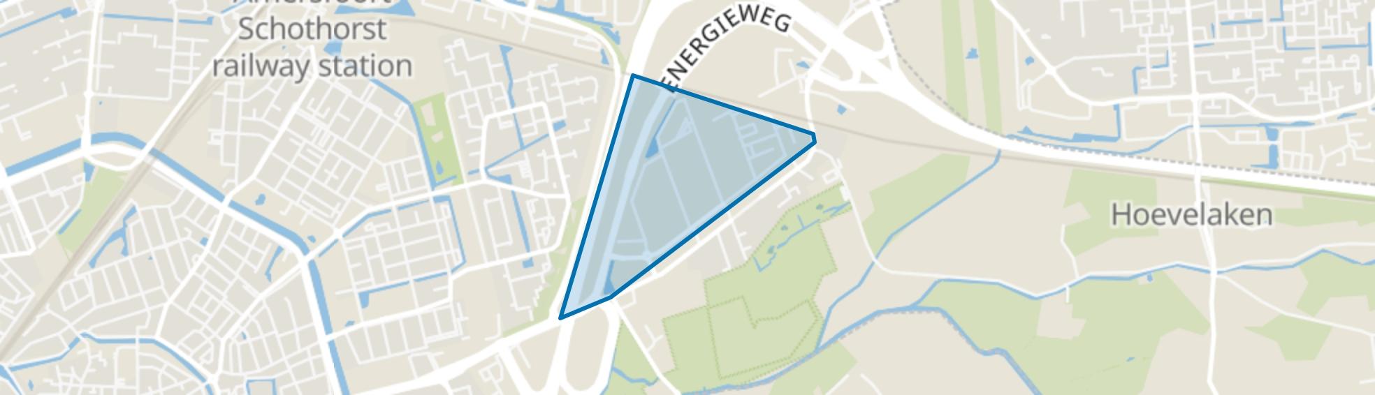 De Wieken, Amersfoort map