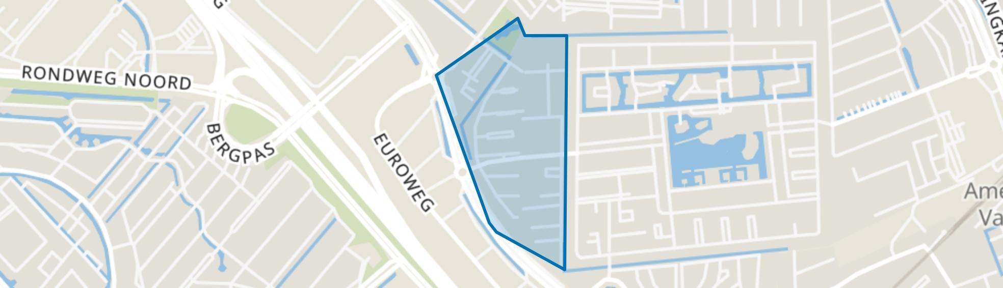 Duisterweg, Amersfoort map