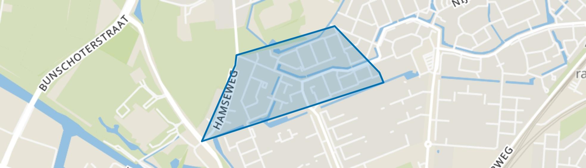 Elly Takmastraat, Amersfoort map