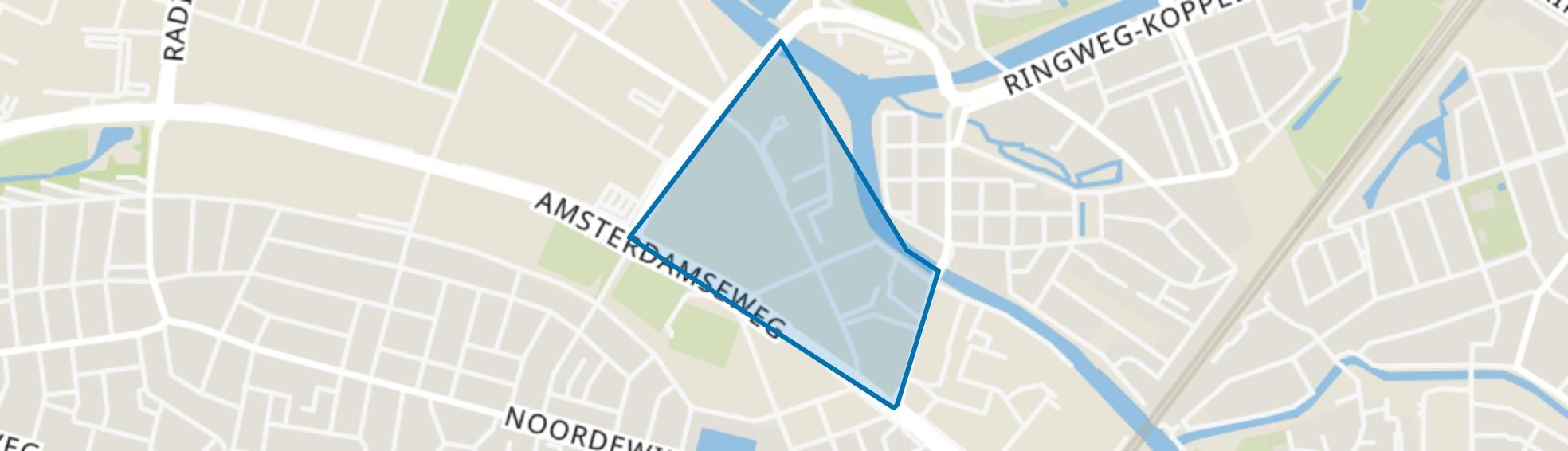 Geldersestraat, Amersfoort map
