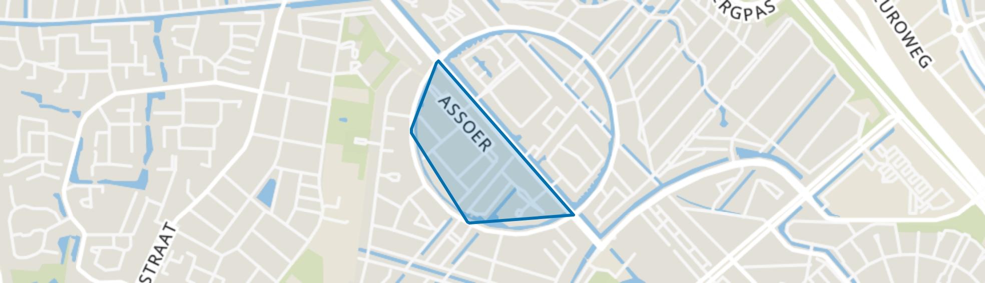 Gesloten Stad, Amersfoort map