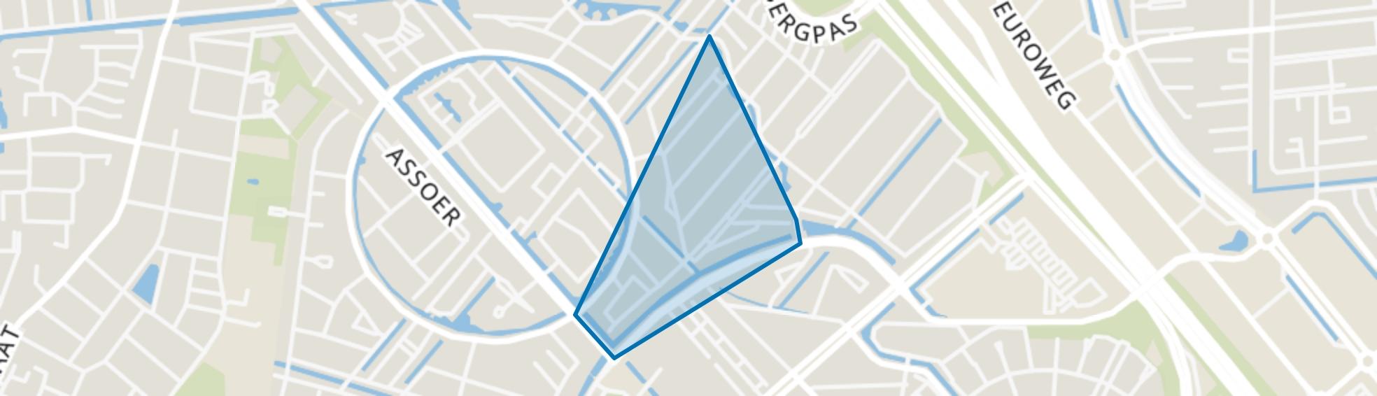 Groote Kreek, Amersfoort map