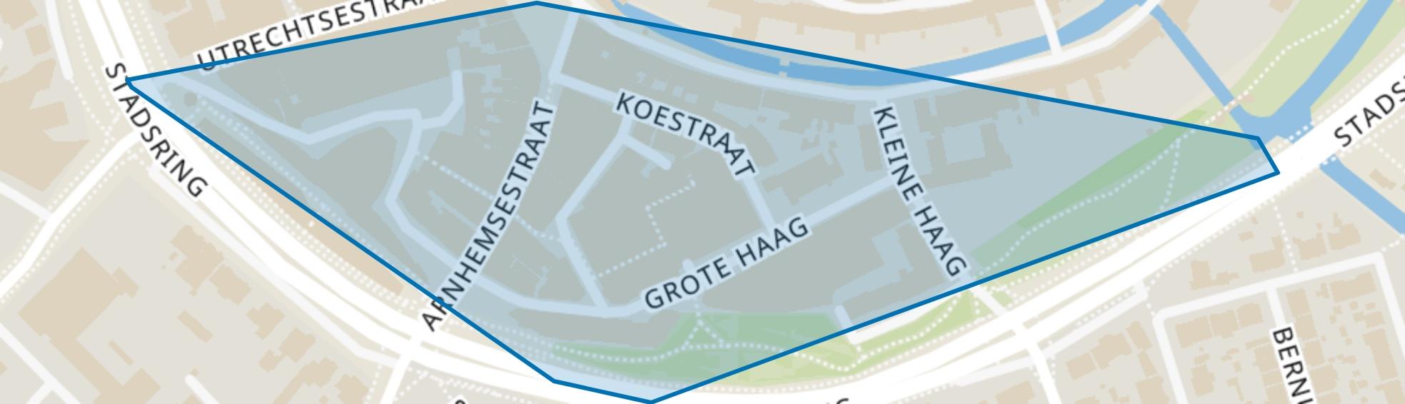 Grote Haag, Amersfoort map
