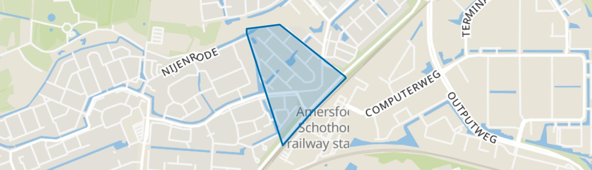 Het Gein, Amersfoort map