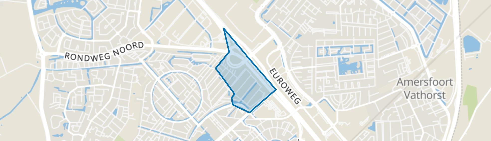 Het Hallehuis, Amersfoort map