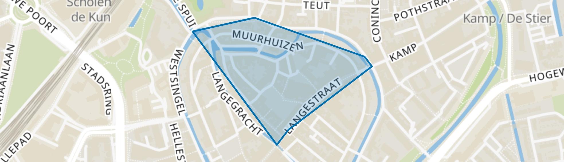 Hof, Amersfoort map