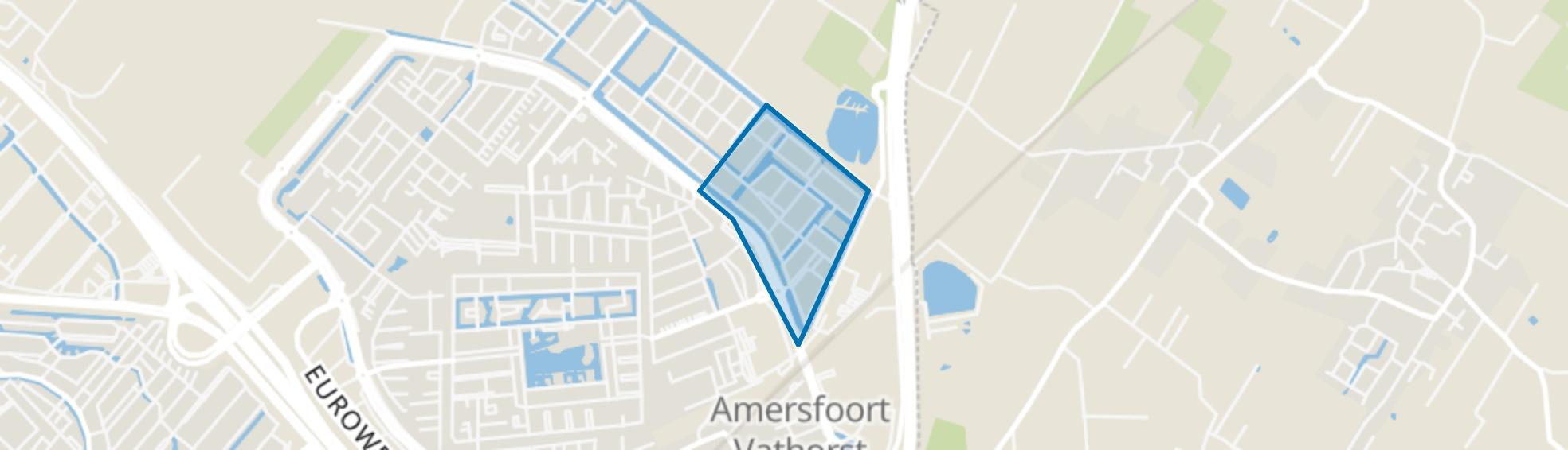 Hoornplantsoen, Amersfoort map