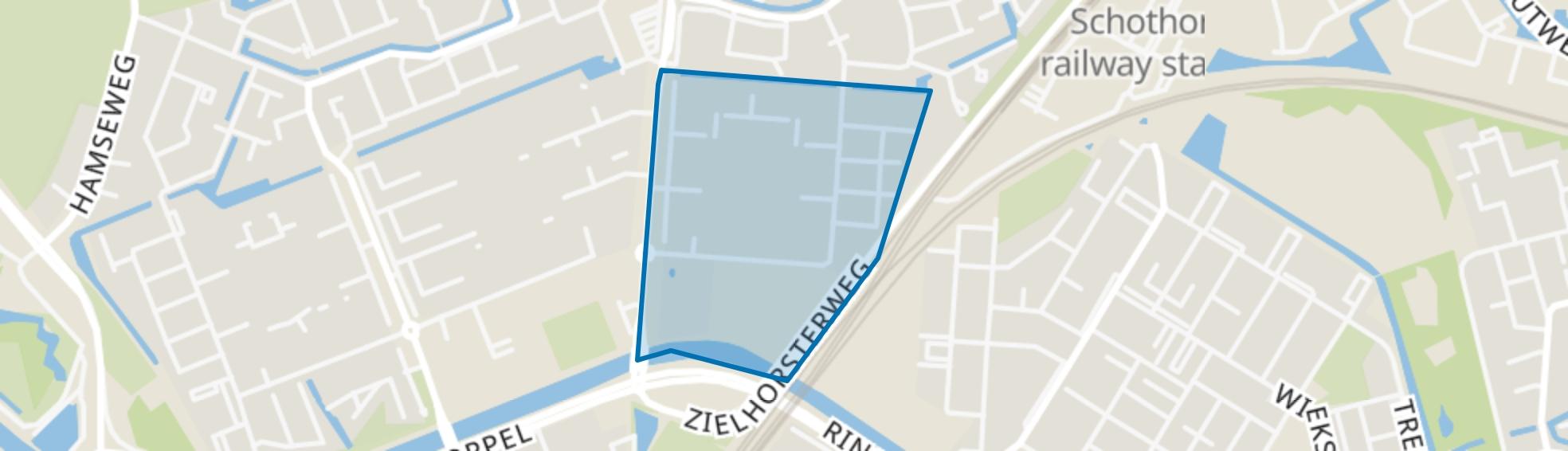 Koperhorst, Amersfoort map