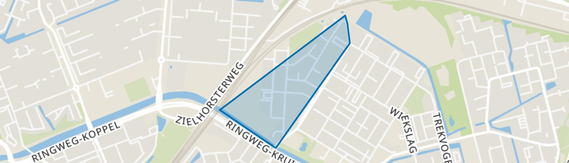 Liendertsedreef, Amersfoort map