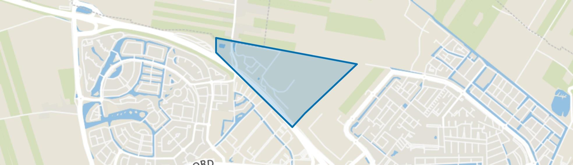 Lindeboomseweg, Amersfoort map