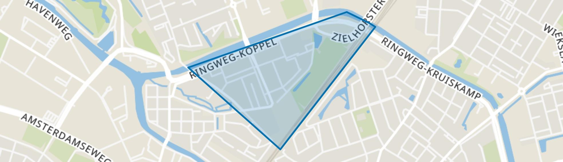 Meridiaan, Amersfoort map