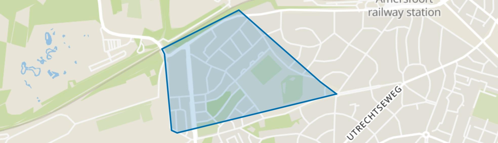 Mr. Th. Heemskerklaan, Amersfoort map