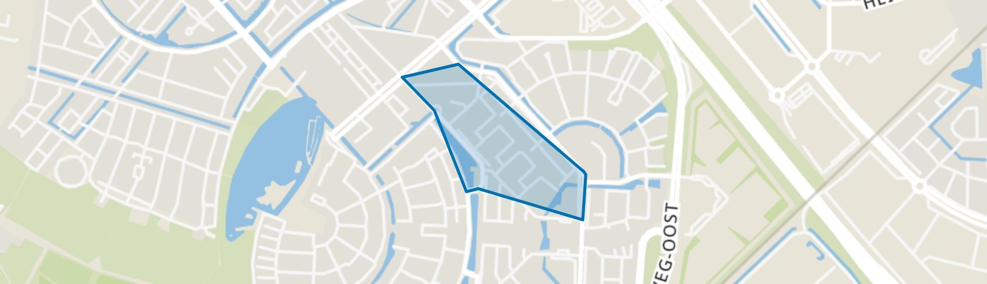 Muziekbuurt-Noord, Amersfoort map