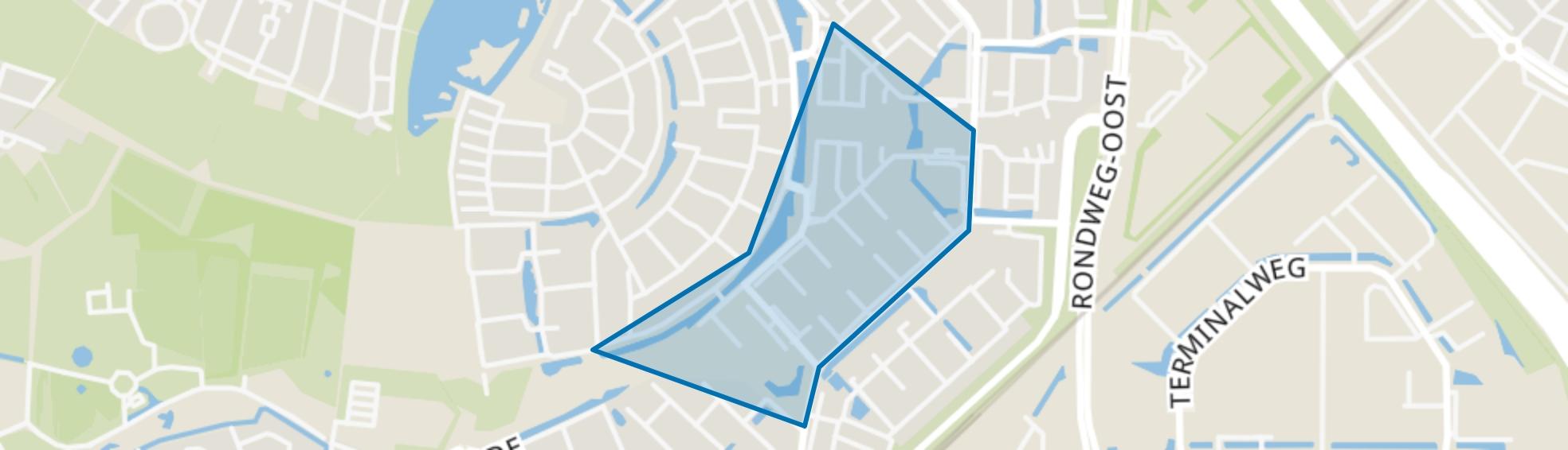 Muziekbuurt-Zuid, Amersfoort map
