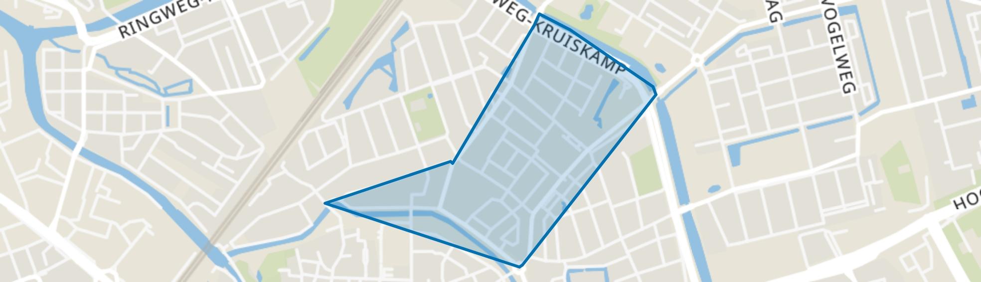 Neptunusplein, Amersfoort map