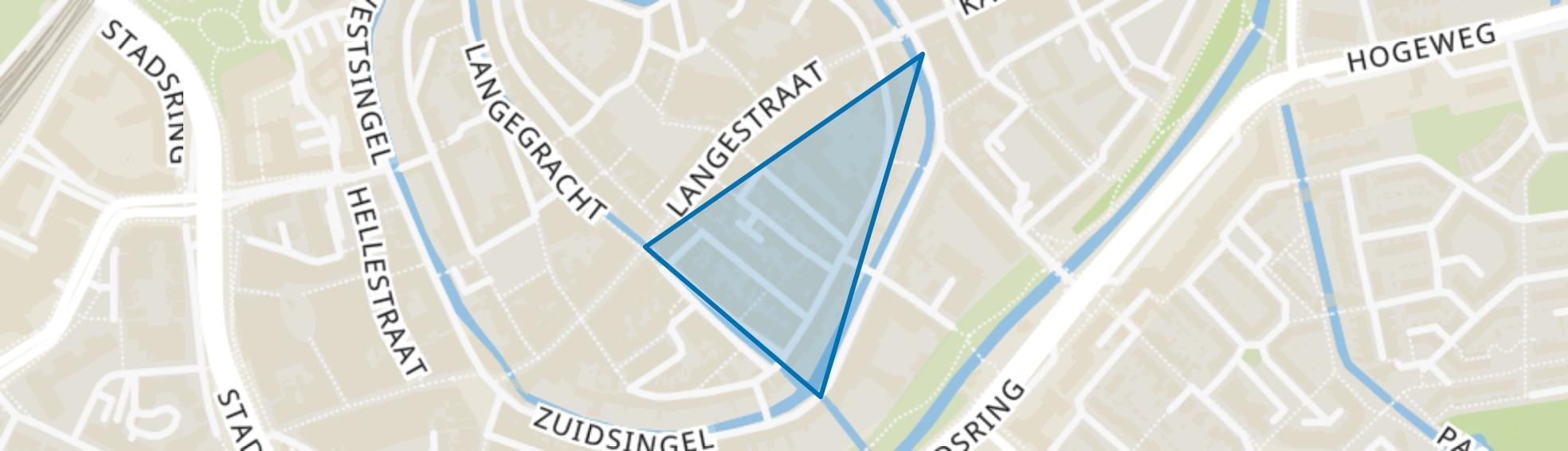 Nieuwstraat, Amersfoort map