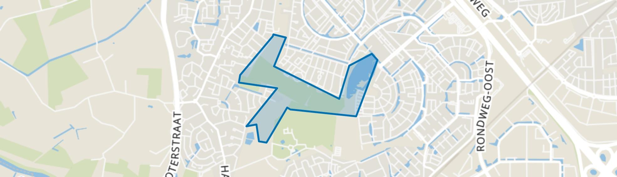 Park Schothorst-Noord, Amersfoort map