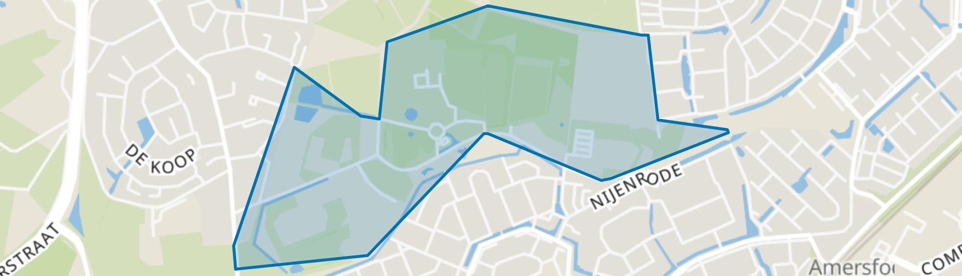 Park Schothorst-Zuid, Amersfoort map
