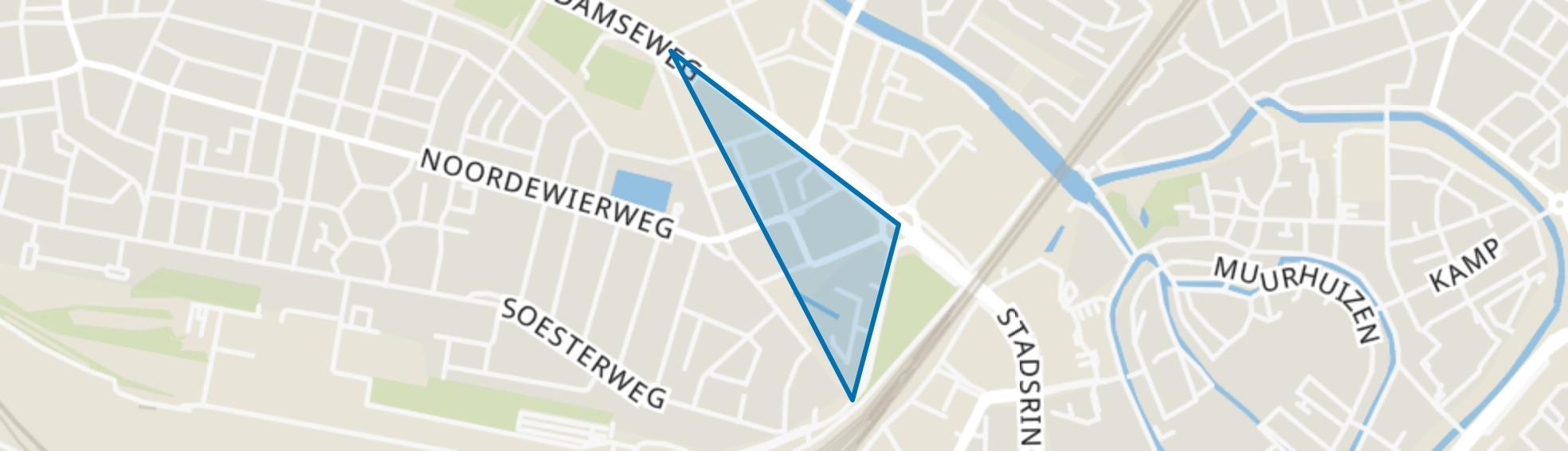 Puntenburg, Amersfoort map