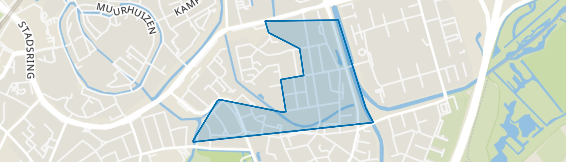 Randenbroekerweg, Amersfoort map