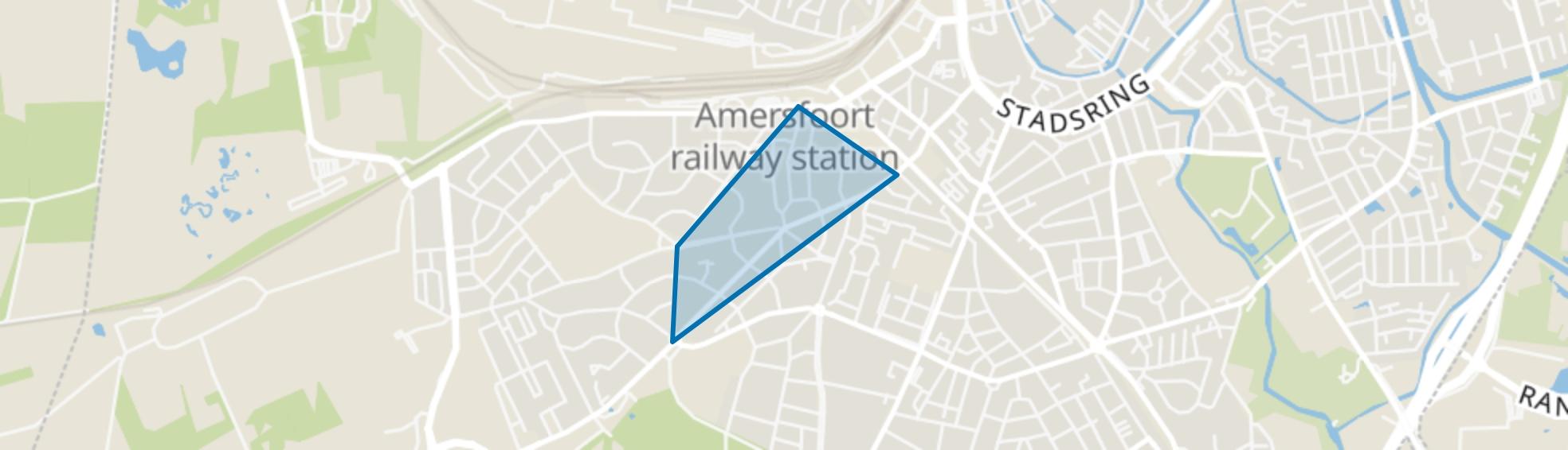 Regentesselaan, Amersfoort map