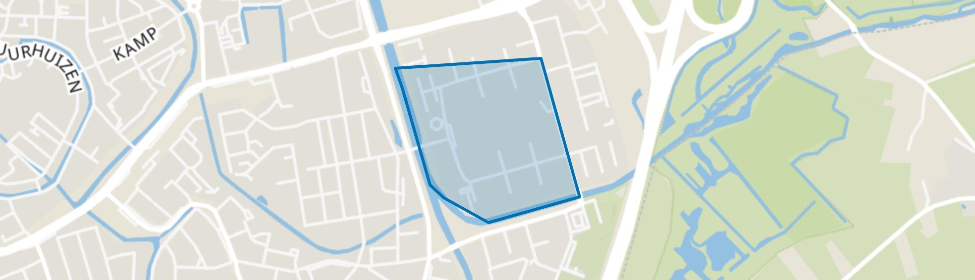 Romeostraat, Amersfoort map