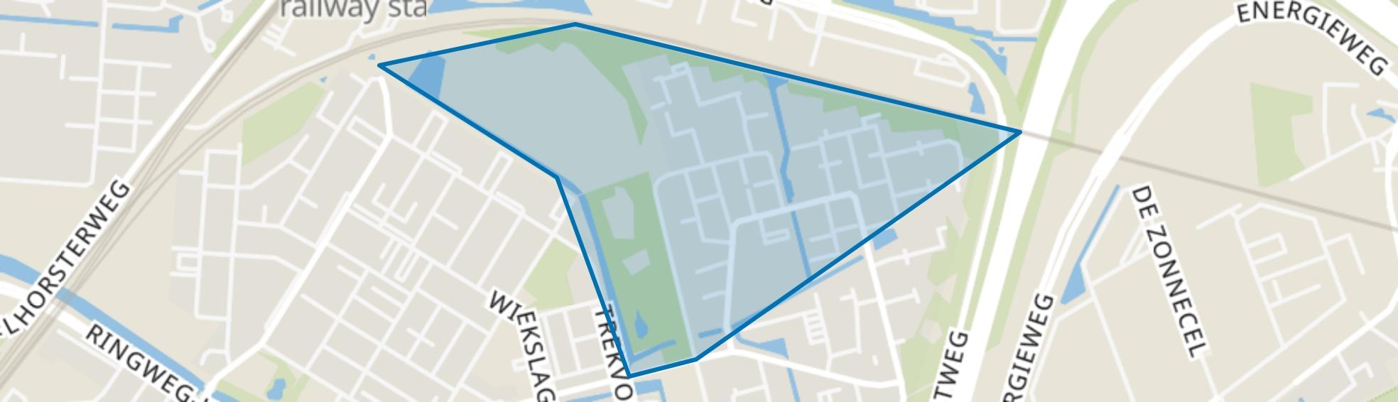 Rustenburg-Noord, Amersfoort map