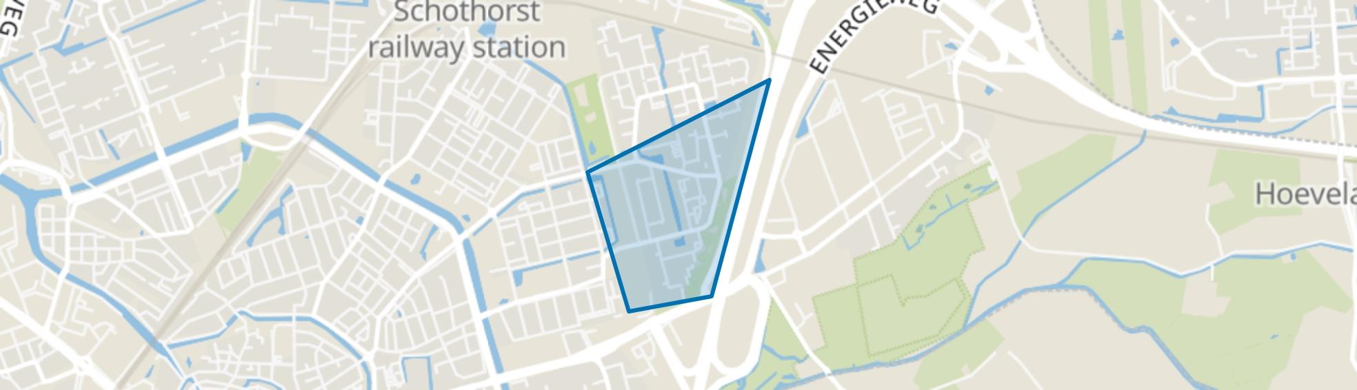Rustenburg-Zuid, Amersfoort map