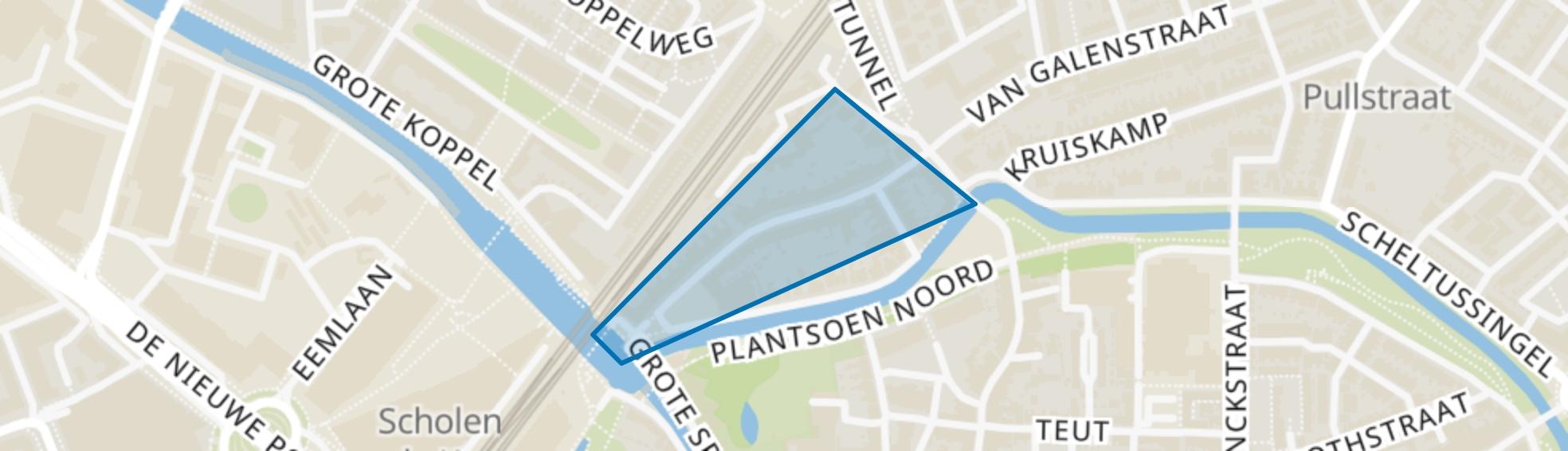 Schimmelpenninckstraat, Amersfoort map