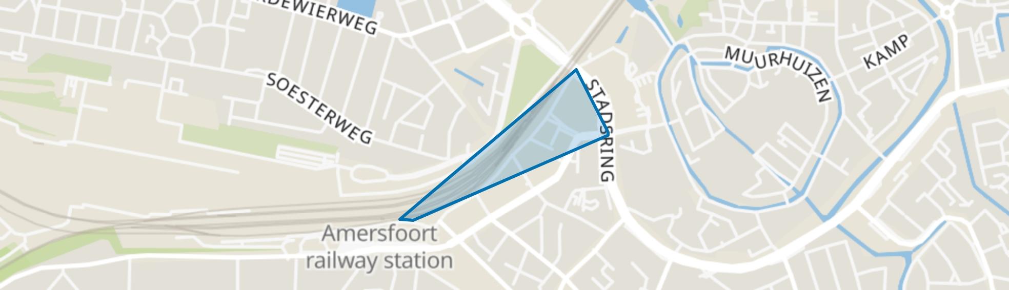 Smallepad, Amersfoort map
